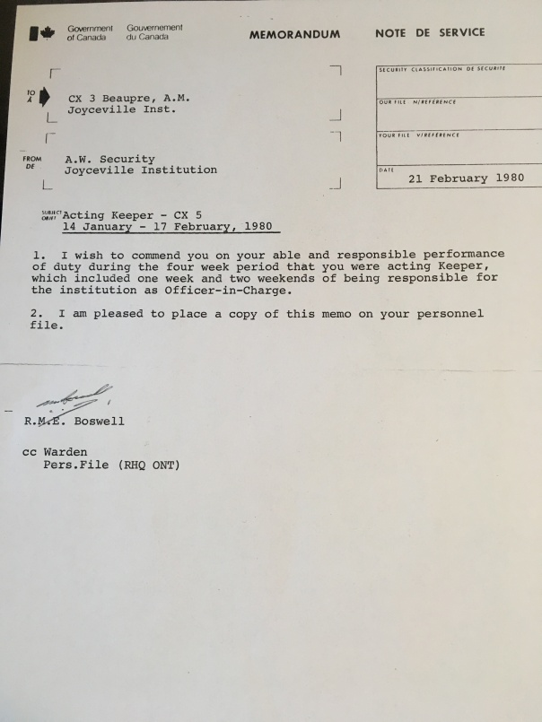 Alf Jr Note of reccomendation